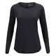 Peak Performance Epic longsleeve Dames zwart
